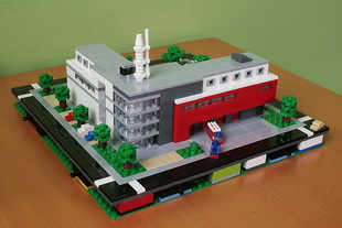 LEGO micropolis: fire station