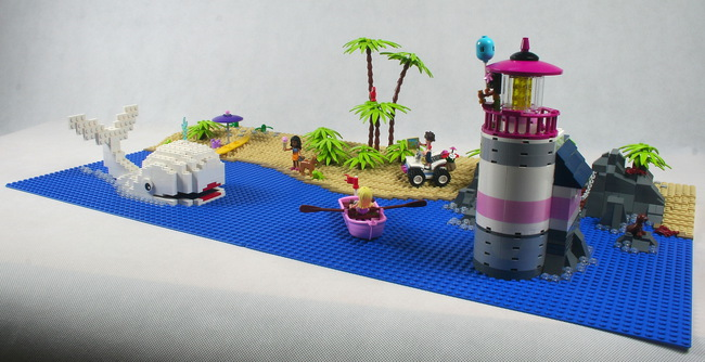 LEGO Bay of Whales